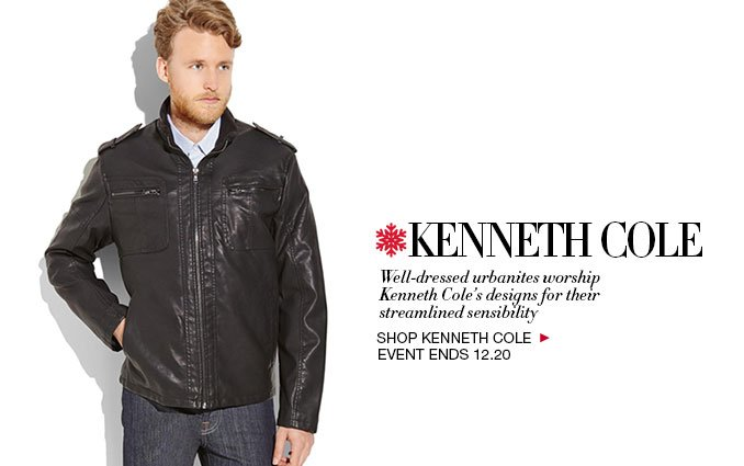 Shop Kenneth Cole Outerwear, Loungewear and Belts for Men