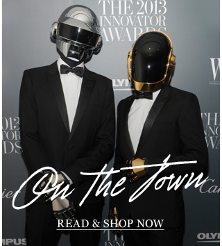 On The Town: The men (and robots) whose style caught our eye last month. Read & shop now