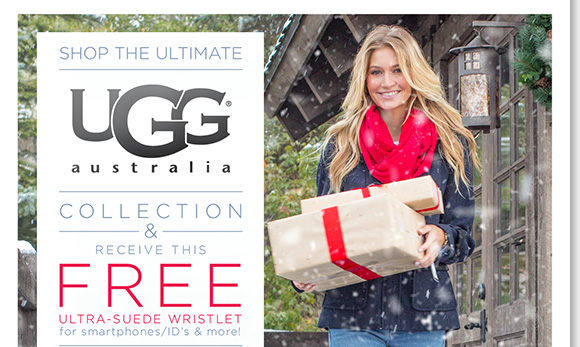 Shop the ultimate UGG® Australia styles and enjoy a FREE ultra-suede wristlet with any regular-priced UGG® Australia purchase.  Plus, FREE 2nd Day Shipping with any regular-priced footwear from UGG® Australia, Dansko, ECCO, ABEO and Thad Stuart or any order of $150 or more.* Shop now to find the best selection at The Walking Company.