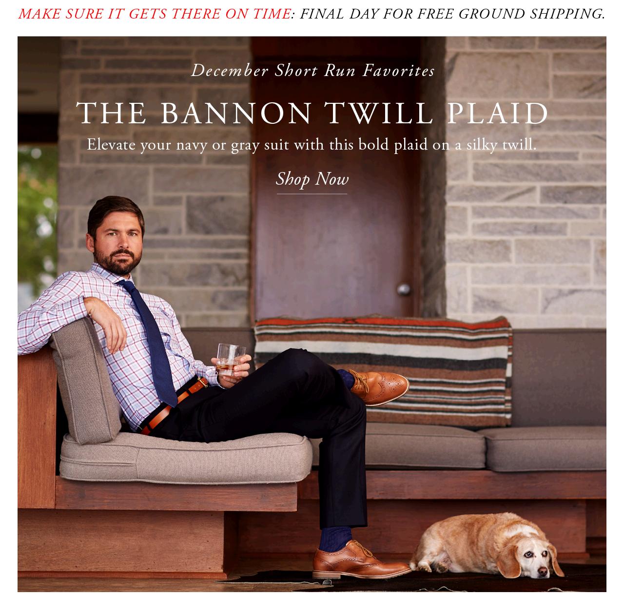 The Bannon Twill Plaid