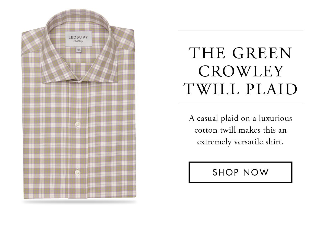 The Green Crowley Twill Plaid