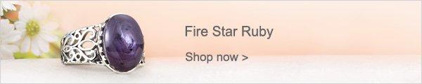 Fire Star Ruby