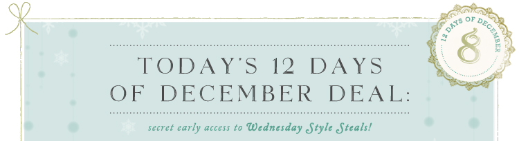 Wednesday Style Steals