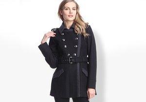 Classic in Black: Coats