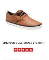 Emerson Vulc Shoes $72.00