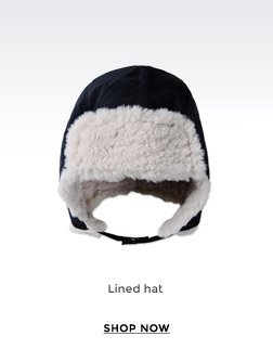 LINED HAT