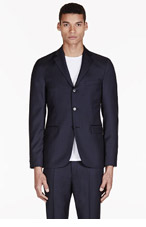 ACNE STUDIOS Deep Navy Wool Drifter Blazer for men