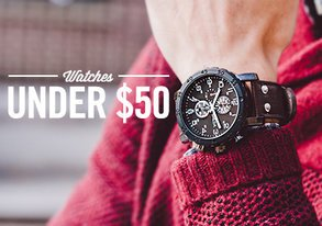 Shop Watches Under $50 ft. Breda