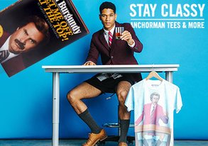 Shop Stay Classy: Anchorman Style