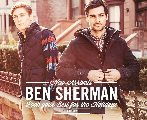 Shop Look Your Best: New Ben Sherman