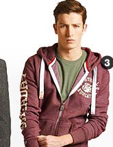 phys ed trackster hoodie