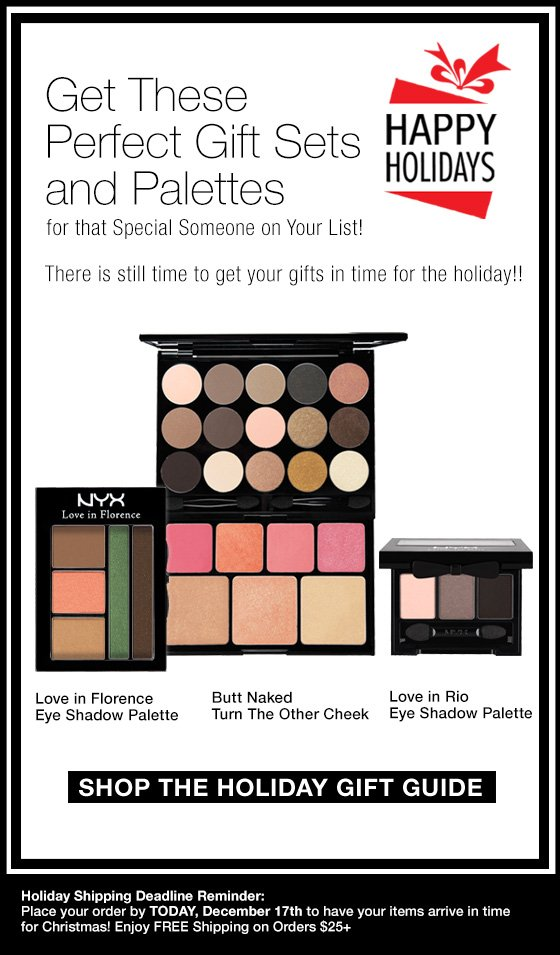 Perfect Gift Sets and Palettes!
