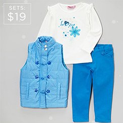 Ready, Set, Play: Boys + Girl Sets