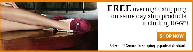 Free Overnight Shipping on UGG