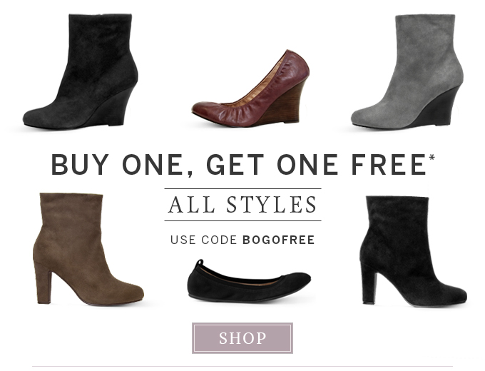 Buy one, get one free - All Styles - Use code BOGOFREE