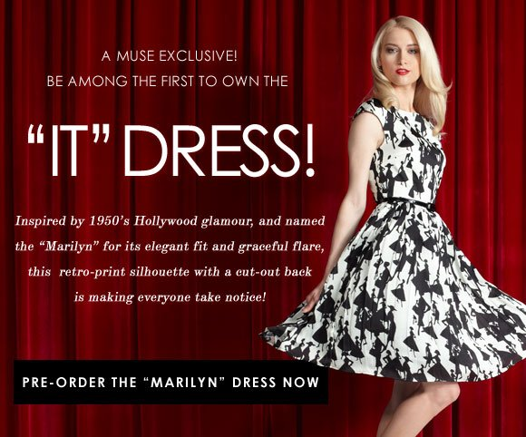 Introducing: the Marilyn Dress! Pre-order it now!