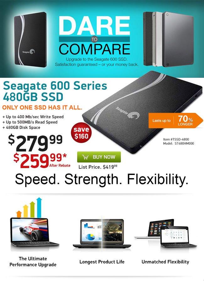 Seagate 600 Series 480GB SSD