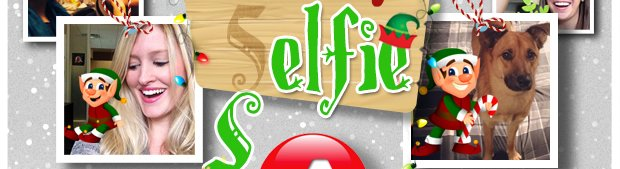 Take a Selfie with Clark the Color Expert Elf - Get Started!