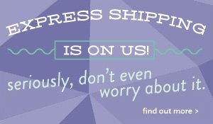 express shipping is on us