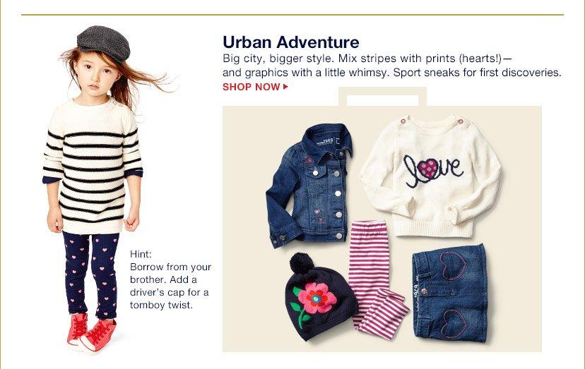 Urban Adventure | SHOP NOW