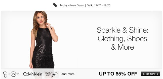 Sparkle and Shine: Clothing, Shoes and More