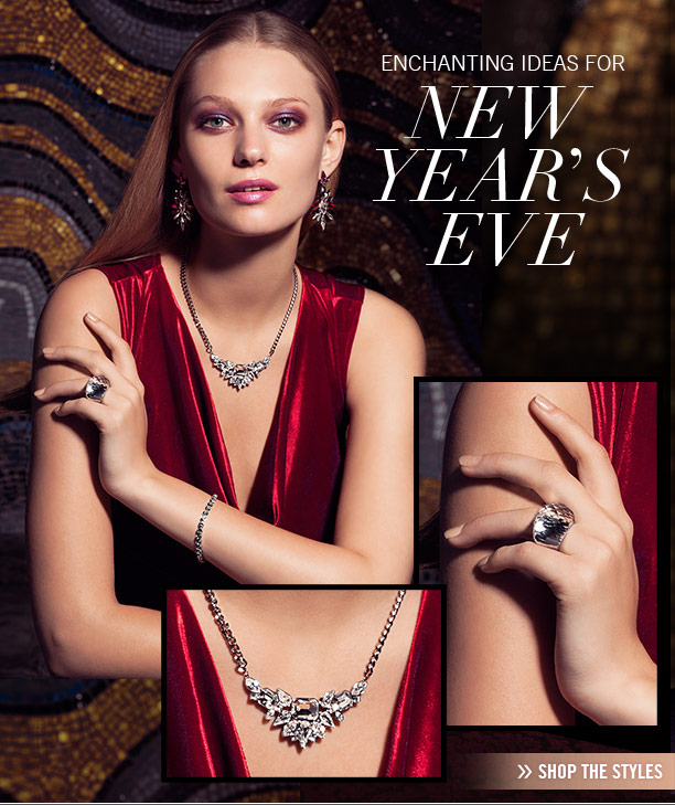 Enchanting ideas for New Year's Eve Shop the styles