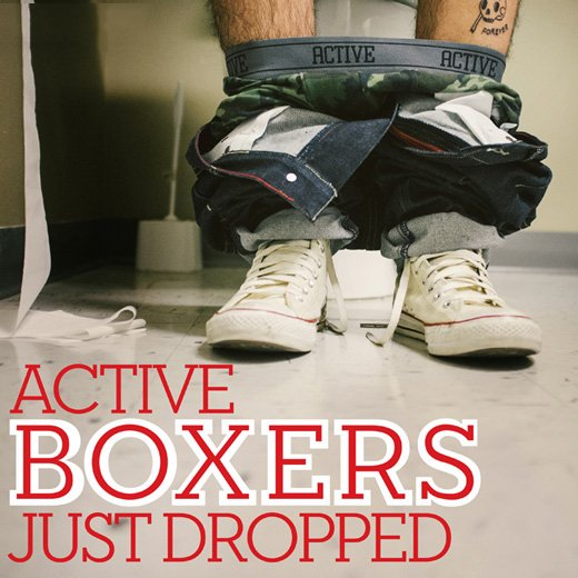 Active Boxer's Just Dropped
