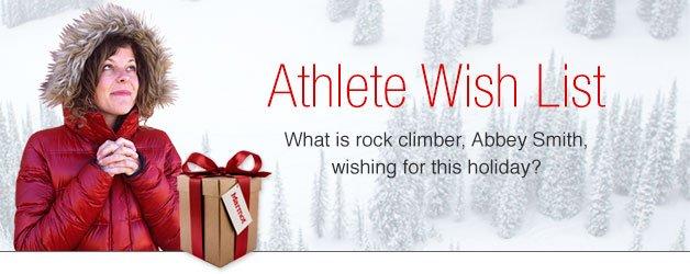 Athlete Wish List: Abbey Smith