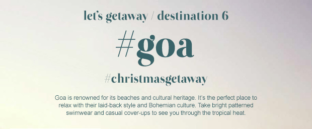 Let's Getaway | Destination Goa