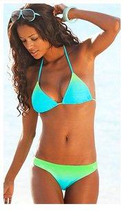 KangaROOS Turquoise Triangle Bikini £30