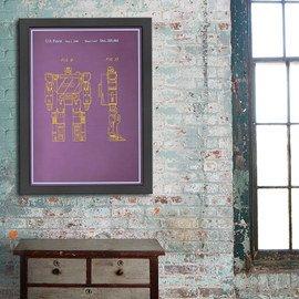 Industrial Design: Blueprint Art