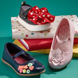 Strapped in: Girls' Mary Janes