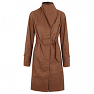 NORWEGIAN RAIN - Hooded twill trench coat