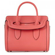 ALEXANDER MCQUEEN - Heroine textured leather tote