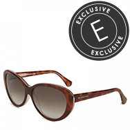 BALENCIAGA - Cat-eye tortoiseshell acetate sunglasses
