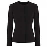 MAXMARA - Fitted crepe jacket