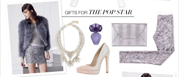 GIFTS FOR THE POP STAR