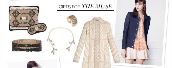 GIFTS FOR THE MUSE