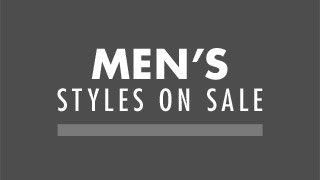 MEN'S STYLES ON SALE