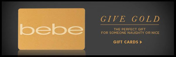 GIVE GOLD - The Perfect Gift For Someone Naughty Or Nice