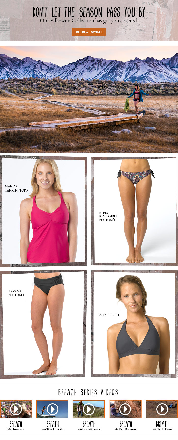 Our Swim Collection has you covered