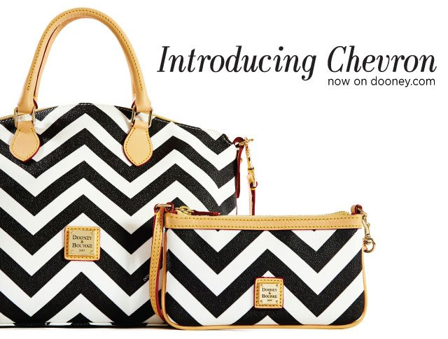Introducing Chevron now on dooney.com