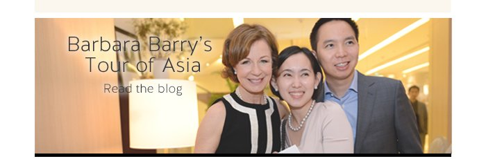 Barbara Barry's Tour of Asia | Read the Blog