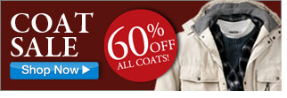 coat sale - 60 percent off all coats - click the link below