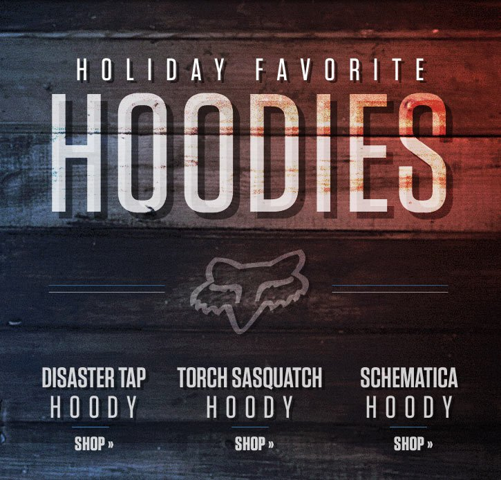 Holiday Favorite Guys Hoodies