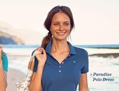 Paradise Polo Dress