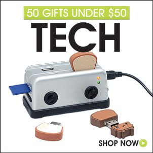 50 Gifts For Techie Under $50