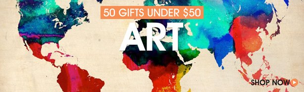 50 Gifts For The Art Lover Under $50