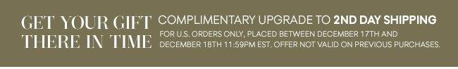 Free Shipping Upgrade