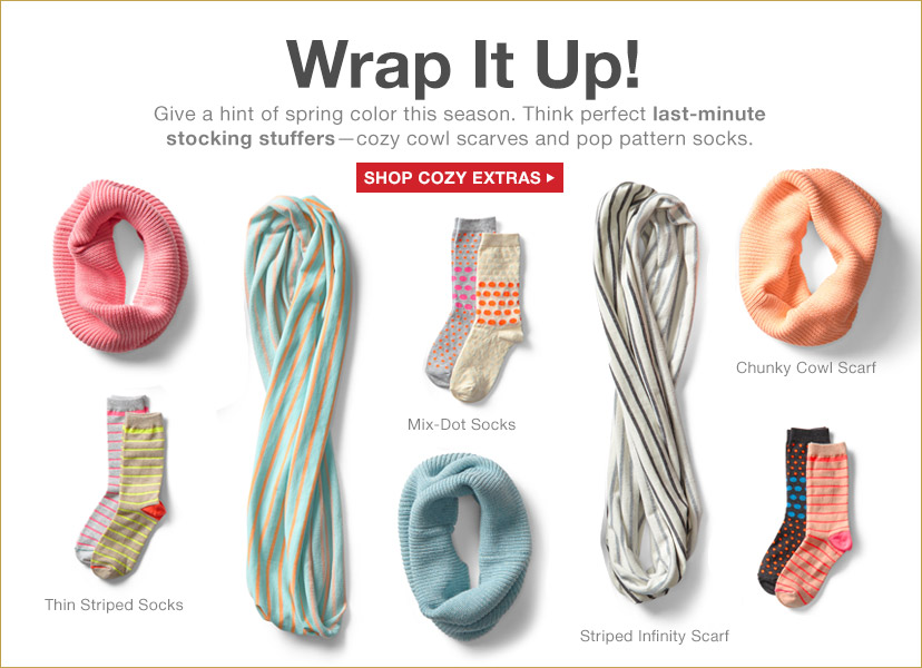 Wrap It Up! | SHOP COZY EXTRAS